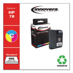 Innovera Tri-Color Ink, Replacement For HP 78 (C6578DN), 450 Page Yield (20078)