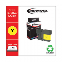 Innovera LC65Y High-Yield Yellow Ink Cartridge