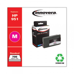 Innovera Magenta Ink, Replacement For HP 951 (CN051AN), 700 Page Yield (951M)