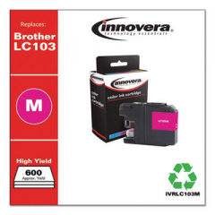 Innovera LC103M High-Yield Magenta Ink Cartridge