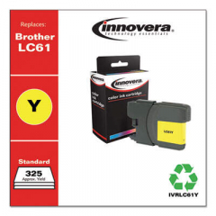 Innovera LC61Y Yellow Ink Cartridge