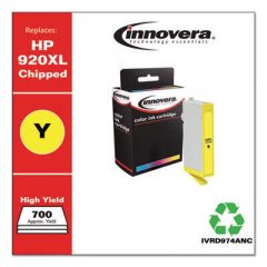 Innovera 920XL (CD974AN) High-Yield Yellow Ink Cartridge