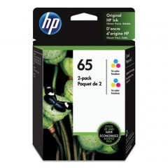 Hp 65, (6za56an) 2-pack Tri-color Original Ink Cartridges