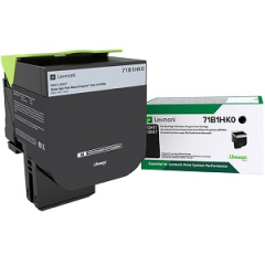 Lexmark 71B1HK0 Black Toner Cartridge