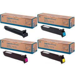 Konica Minolta 8650 Toner Cartridge Set
