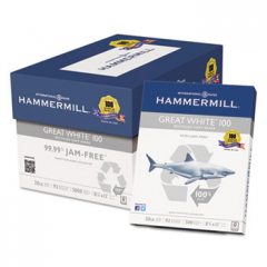 Hammermill 86790 Great White 100 Recycled Copy Paper