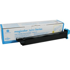 Konica Minolta 8938614 Yellow Toner Cartridge