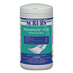 Scrubs MEDAPHENE Plus Disinfecting Wipes 6-Pack