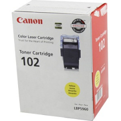 Canon 102 Yellow Toner Cartridge