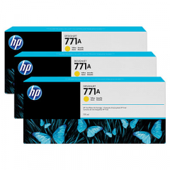 HP B6Y42A Yellow Ink Cartridge Multipack