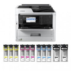 Epson WorkForce Pro WF-C5790 Bundle