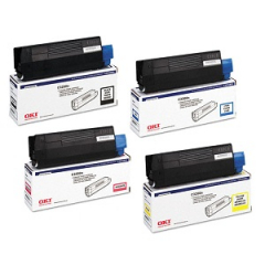 Okidata C3200 Toner Cartridge Set