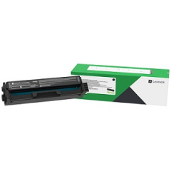 Lexmark C331HK0 Black Toner Cartridge