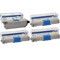 Okidata C332 Toner Cartridge Set