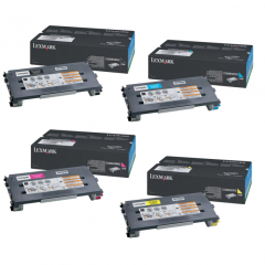 Lexmark C500 Toner Cartridge Set