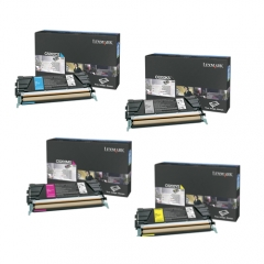 Lexmark C520 Toner Cartridge Set