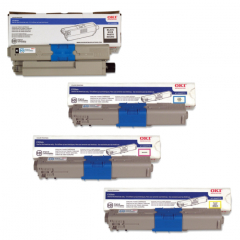 Okidata C530 Toner Cartridge Set