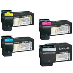 Lexmark C540 Toner Cartridge Set