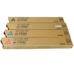 Ricoh C5502 Toner Cartridge Set