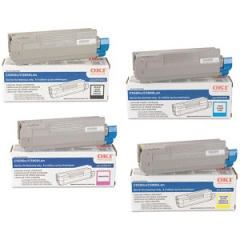 Okidata C5650 Toner Cartridge Set