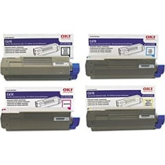 Okidata C610 Toner Cartridge Set