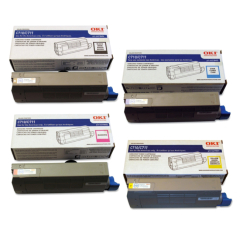 Okidata C711 Toner Cartridge Set