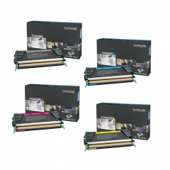 Lexmark C734 Toner Cartridge Set