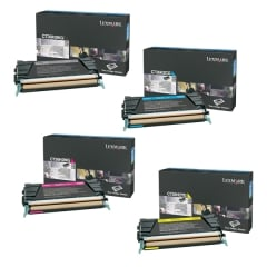 Lexmark C736 Toner Cartridge Set