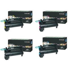 Lexmark C792 Toner Cartridge Set