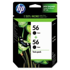 HP C9319FN Black Ink Cartridge Twin Pack