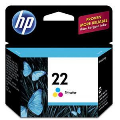 HP C9352AN Tricolor Ink Cartridge