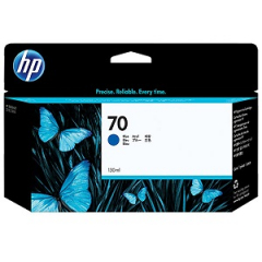 HP C9458A Blue Ink Cartridge