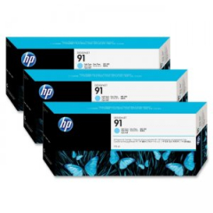 HP C9486A Light Cyan Ink Cartridge Multipack