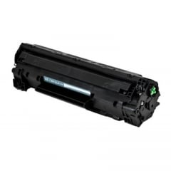 Compatible MICR CB436A Black Toner Cartridge