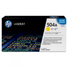 HP CE252A Yellow Toner Cartridge