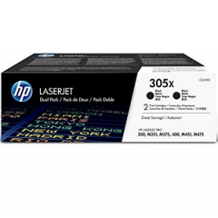 HP CE410XD Black Toner Cartridge Dual Pack