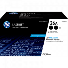 HP 26A Black Dual Toner Cartridge (CF226AD1)