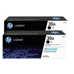 HP 30A Black Toner Cartridge 2-pack