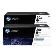 HP 30X High Yield Black Toner Cartridge 2-pack