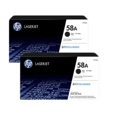 HP 58A Black Toner Cartridge 2-pack