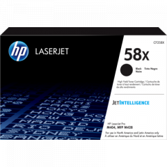 HP CF258X Black Toner Cartridge