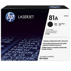 HP CF281A Black Toner Cartridge