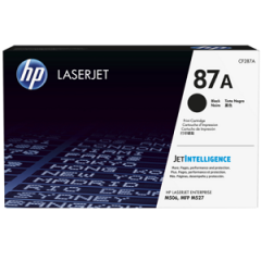 HP CF287A Black Toner Cartridge