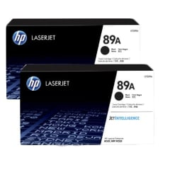 HP 89A Black Toner Cartridge 2-pack
