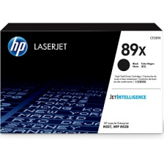 HP CF289X Black Toner Cartridge