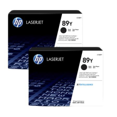 HP 89Y Extra High Yield Black Toner Cartridge 2-pack