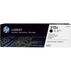 HP CF380XD Black Toner Cartridge Dual Pack