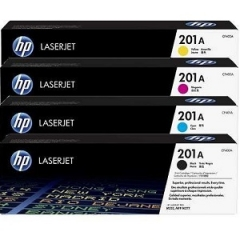 HP 201A Black/Cyan/Magenta/Yellow Toner Cartridge (CF400AQ1)