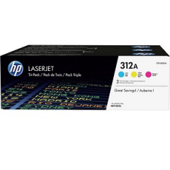 HP CF440AM Toner Cartridge Tri-Pack