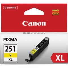 Canon CLI-251Y XL Yellow Ink Tank